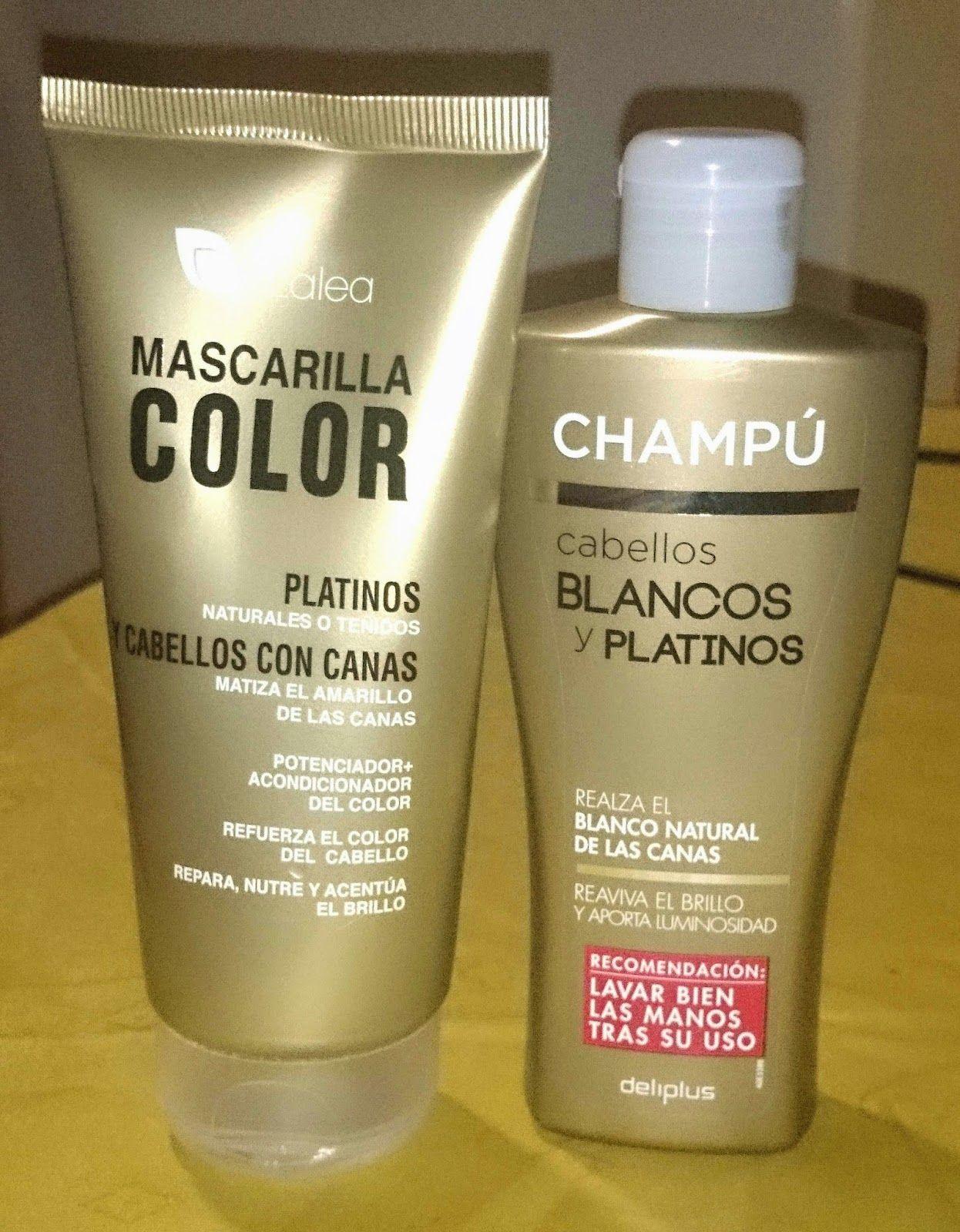 Champu Mascarilla Para Cabellos Rubios Y Blancos Nails