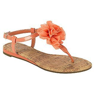 6454c54a569d Women s Bertie Flower Slingback Sandal - Coral- Jaclyn Smith  16.99... I  tried these on at KMART and fel in love with them!