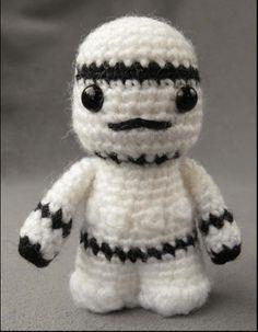 Amigurumi Mini Stormtrooper From Star Wars Free English Pattern
