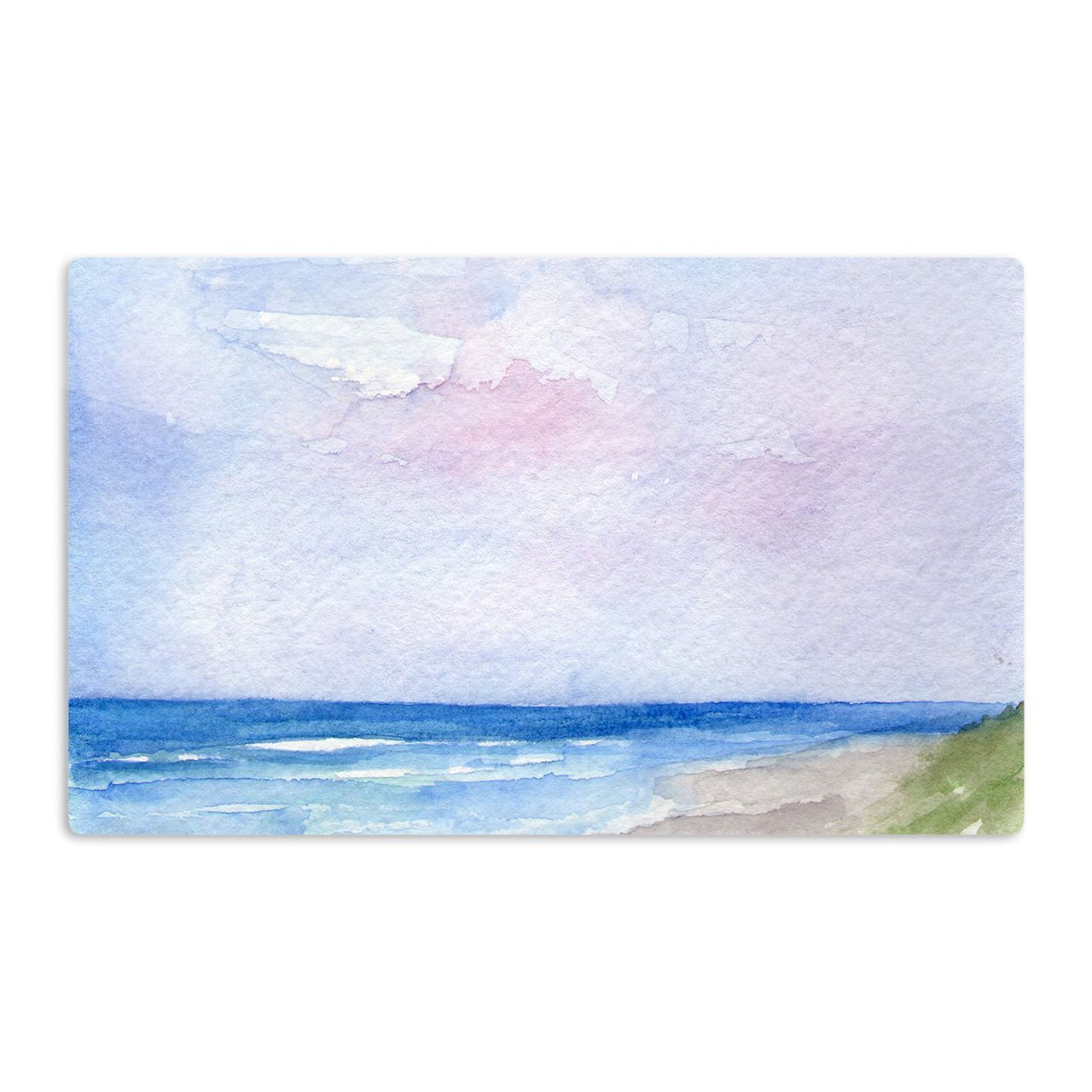 Kess InHouse Rosie Brown 'Wet Sand' Beach View Artistic Magnet