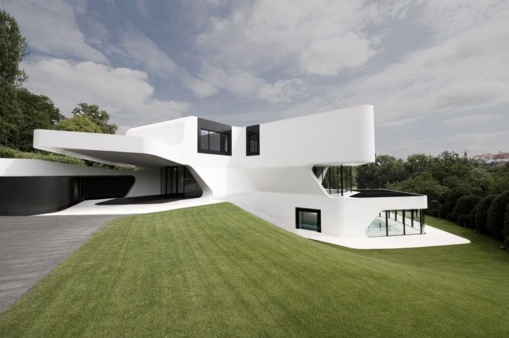 The Most Futuristic House Design In The World Digsdigs Modern Architecture Building Futuristic Home Cool House Designs