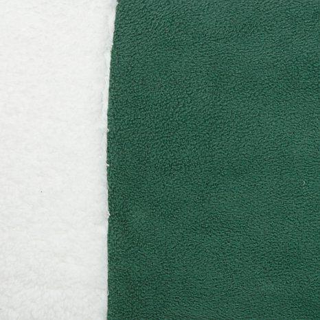 Sherpa Trim Microfleece Sheet Set