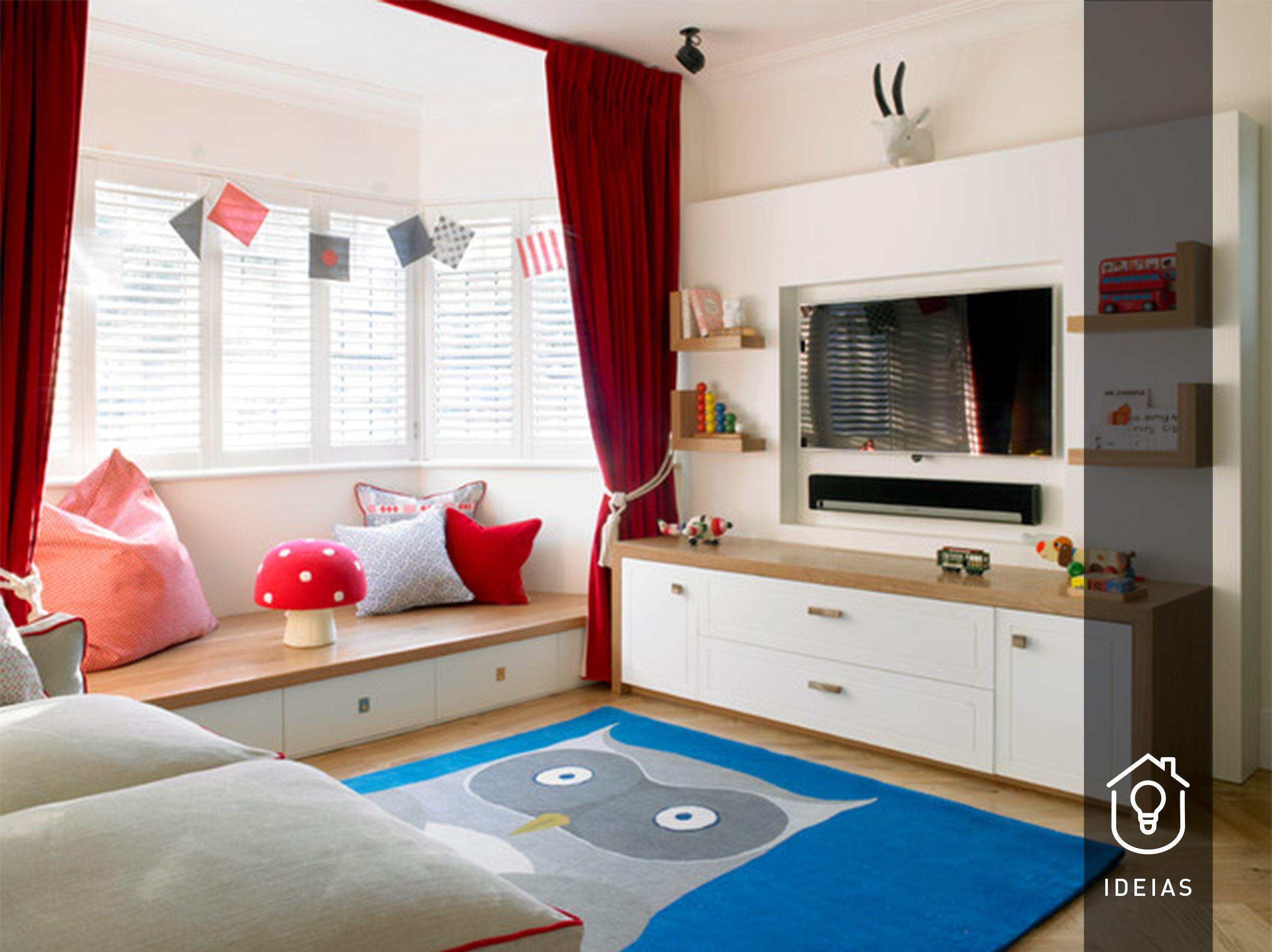 Bay window decor ideas  ideias de construção e decoração do espaço  quartos de criança
