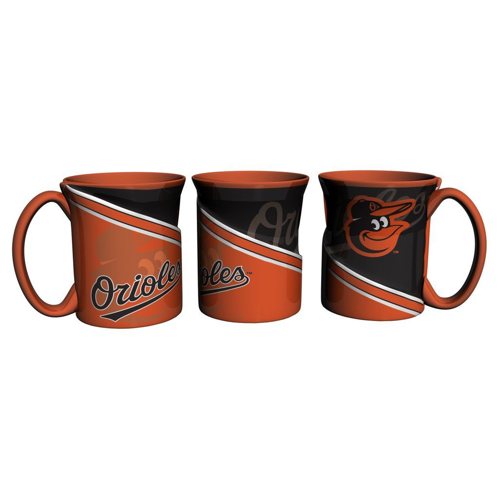 Baltimore Orioles Coffee Mug 18oz Twist Style Mugs