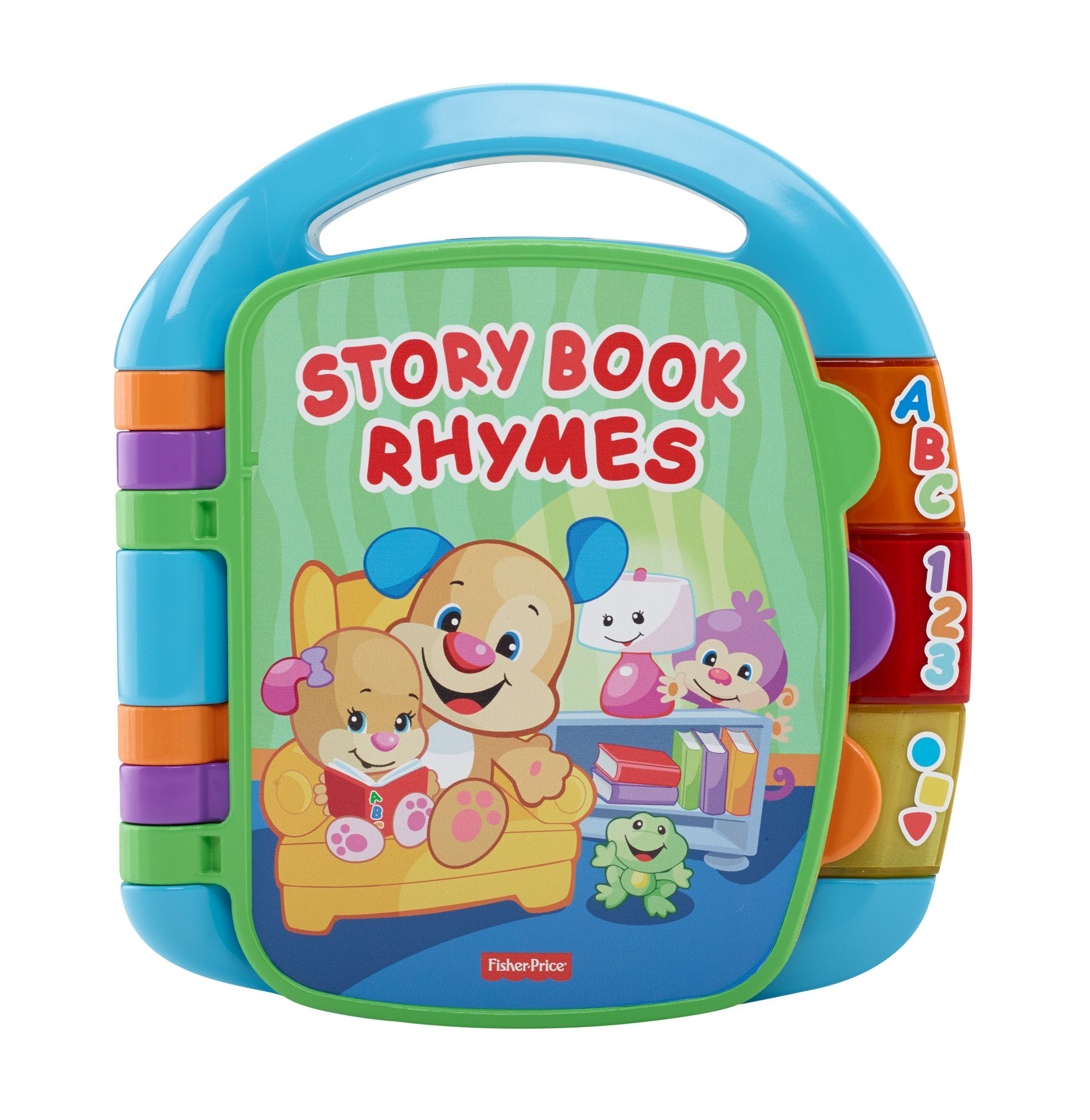 Laugh Learn Storybook Rhymes Multi Color Fisher Price Tienda