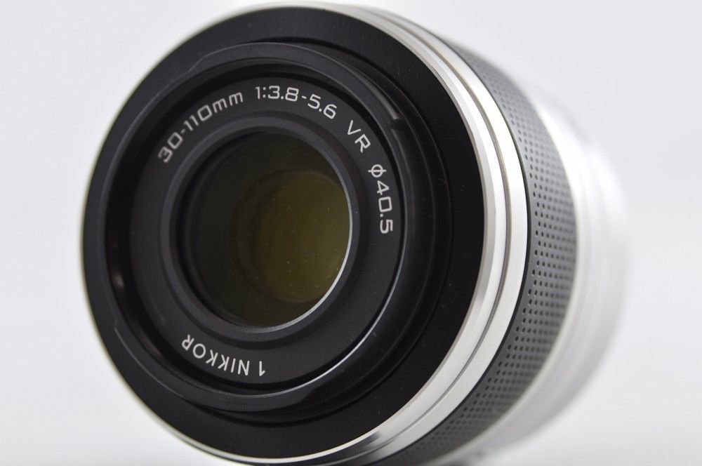 Exc Nikon 1 Nikkor 30 110mm F3 8 5 6 Vr Silver Lens For Nikon 1 Ebay Nikon Vr Lens Lens