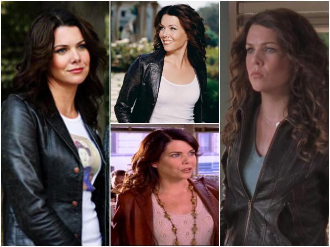 leather jacket Gilmore Girls Lorelei