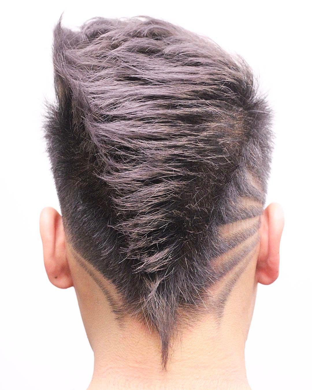 V Haircut Mens : haircut, Mohawk, Haircuts, Haircut, Designs, Designs,