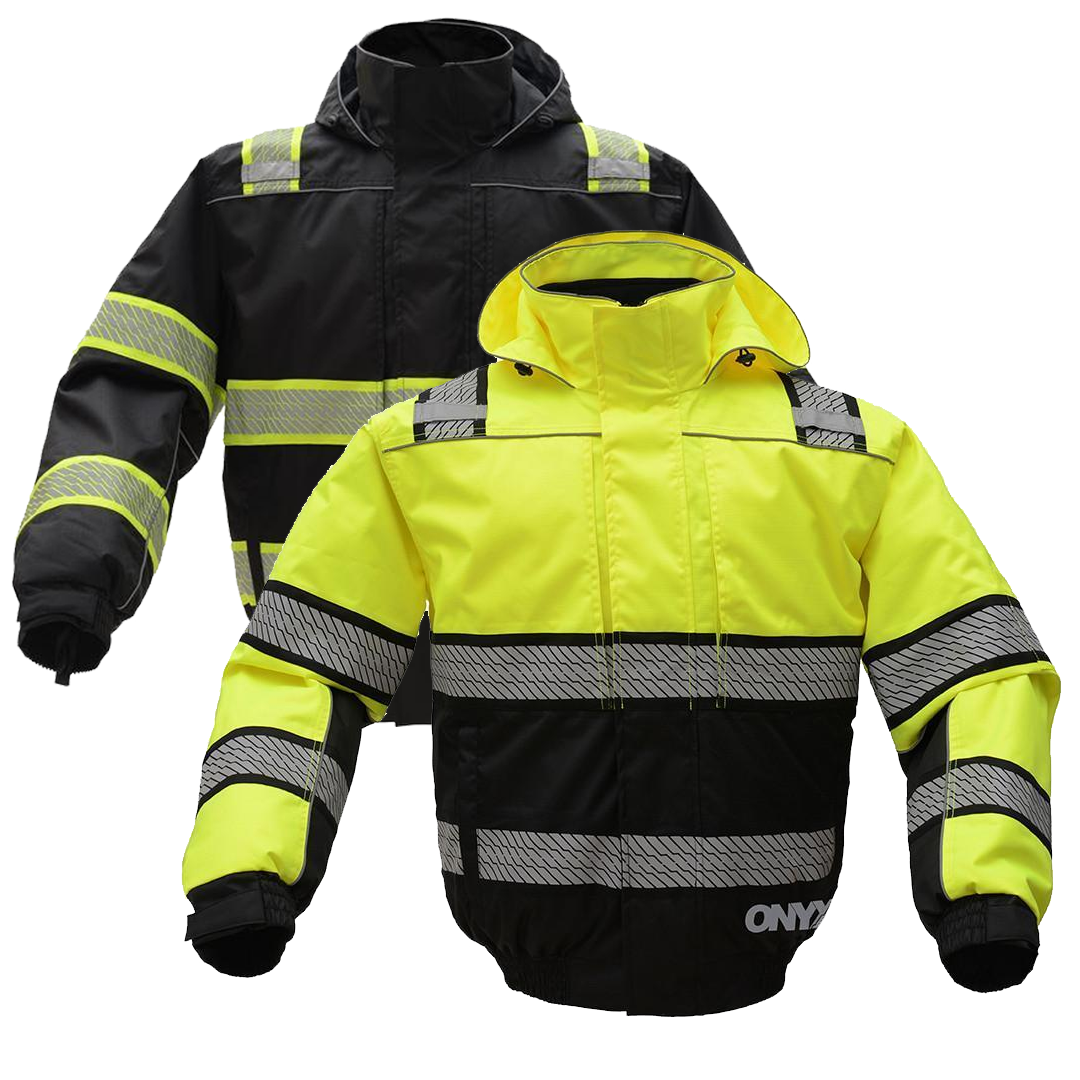 Gss Safety Onyx 3 In 1 Winter Bomber Jacket Bomber Jacket Winter Bomber Jacket Jackets