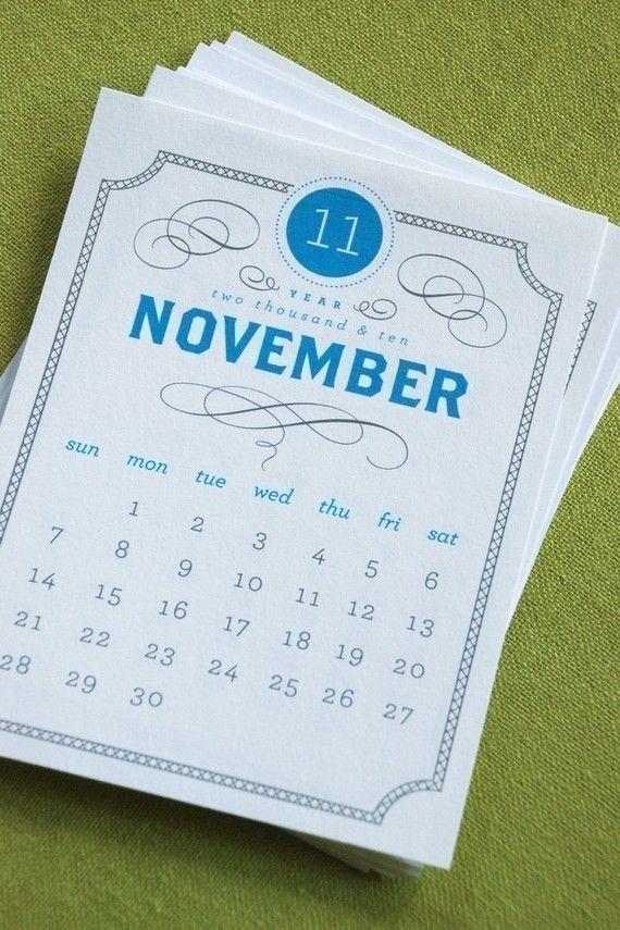 VINTAGE Printable Desk Calendar 2018 2019 Digital Instant Download
