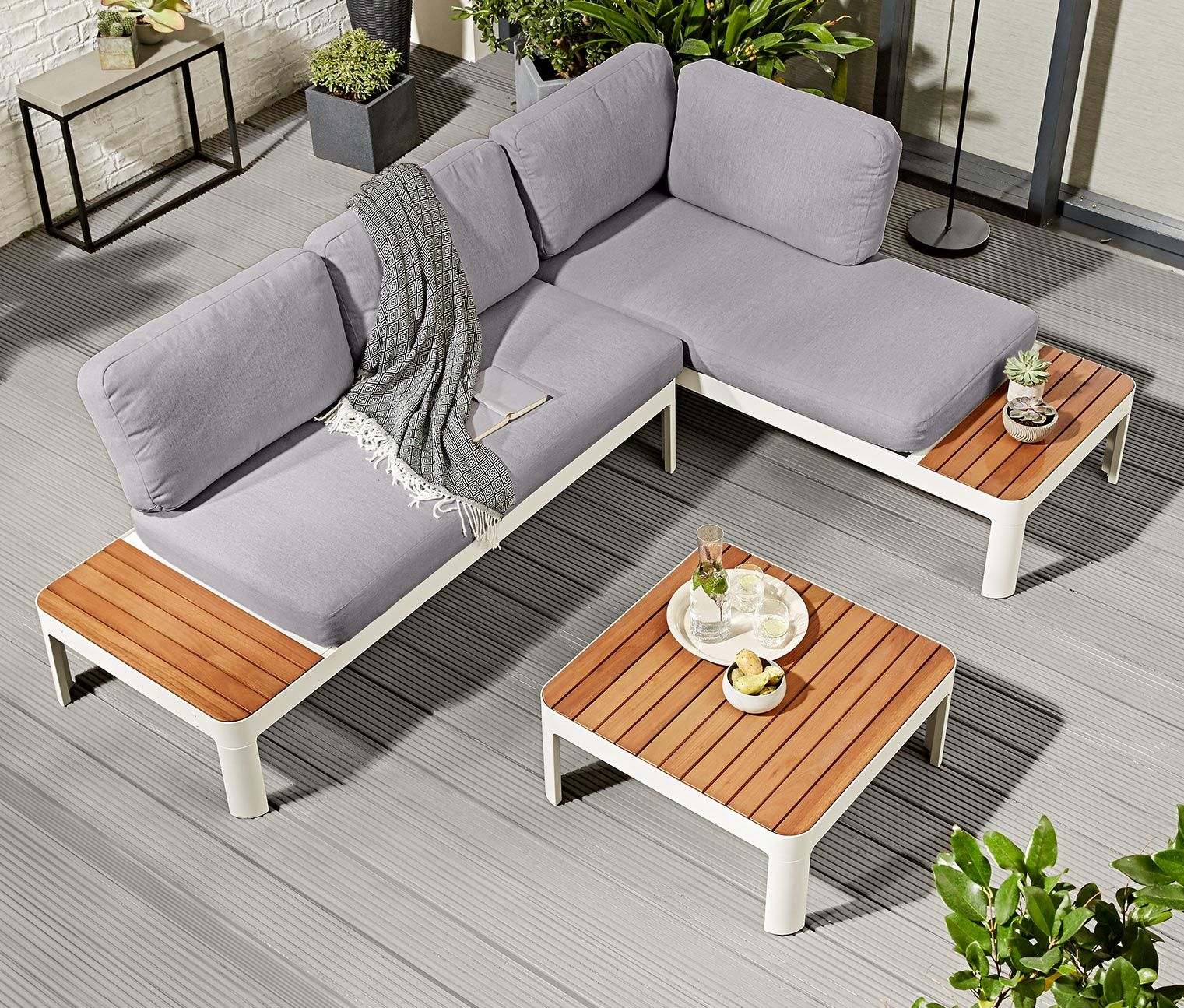 Tchibo Loungemöbel Loungemöbel Set Ogród Outdoor Furniture Sets Outdoor Decor