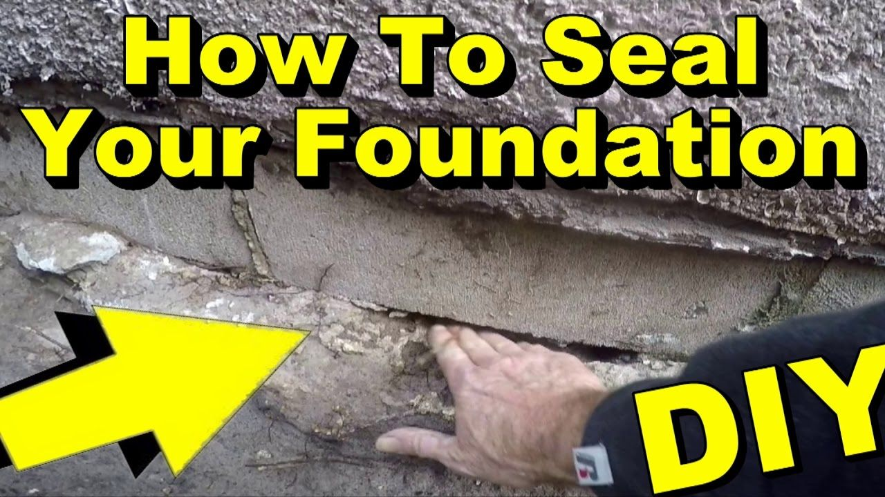 Exterior Waterproofing How To Seal Your Foundation Diy Waterproofing Basement Foundation Basement Waterproofing Diy Foundation Repair