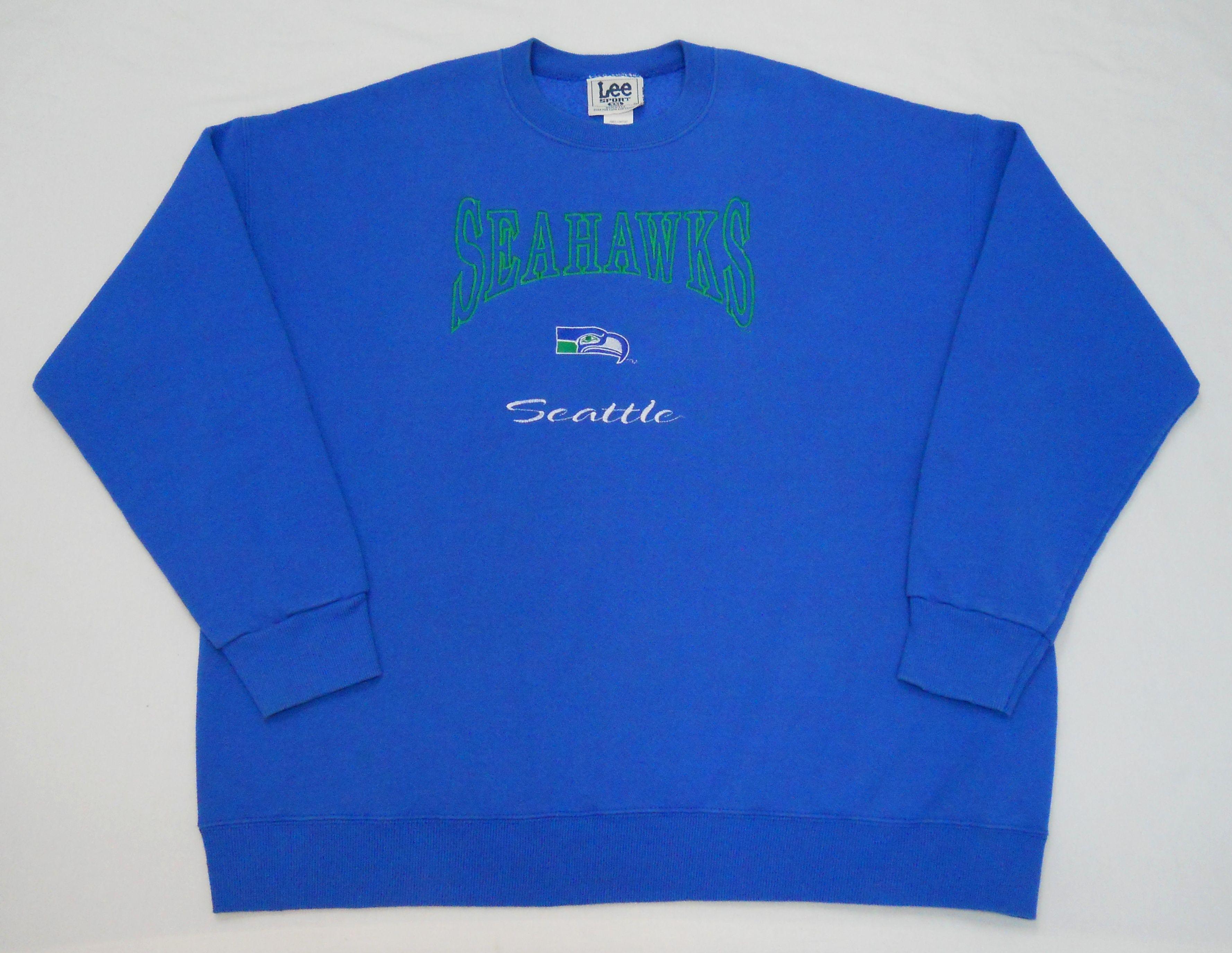 Vintage mid late-90s Seattle Seahawks Sweatshirt by Lee Sport. Men s ... d5d22513e