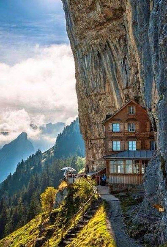 Äscher Cliff
