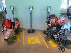Stroller Parking At The Phoenix Childrens Museum