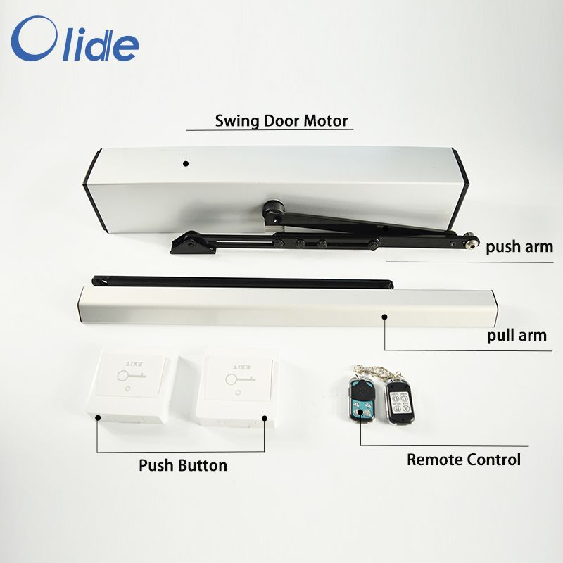 Electric Swing Door Opener With Push Button Push Button Electric