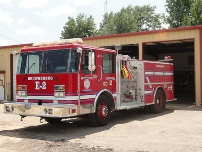 Engine 2 is assigned to Brownsboro Volunteer Fire Department - station 2 in Brownsboro, TX