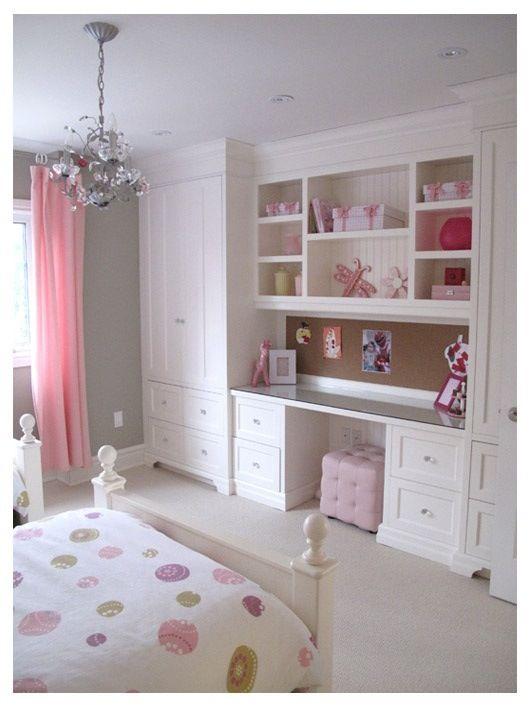 Mueble niña-   interiors n arrangements   Pinterest   Muebles niños ...