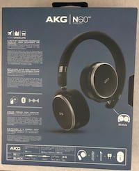 8b82bc1b1f2 Used New AKG Harman Noise Canceling Headphones Wired/Wireless Bluetooth for  sale in Springfield -