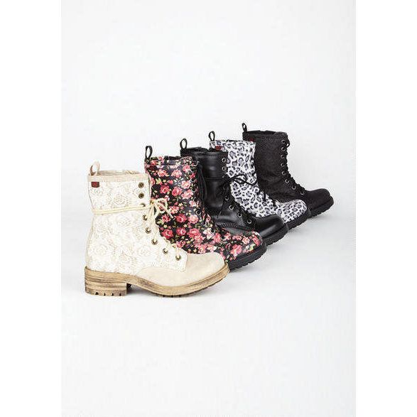 Combat boots for girl teens 11