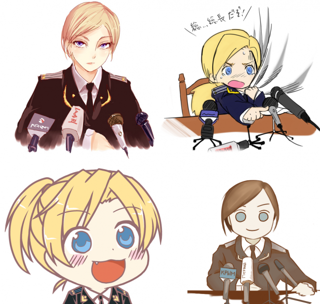 Meet Crimea's New Anime Mascot, Natalia Poklonskaya