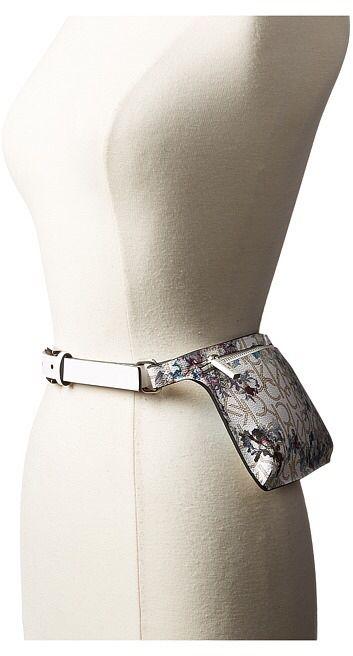 Calvin Klein 20mm Smooth Leather Strap Logo Floral Belt Bag Women S Belts Women Belts Fashion Belts For Women Women S Belt Bag