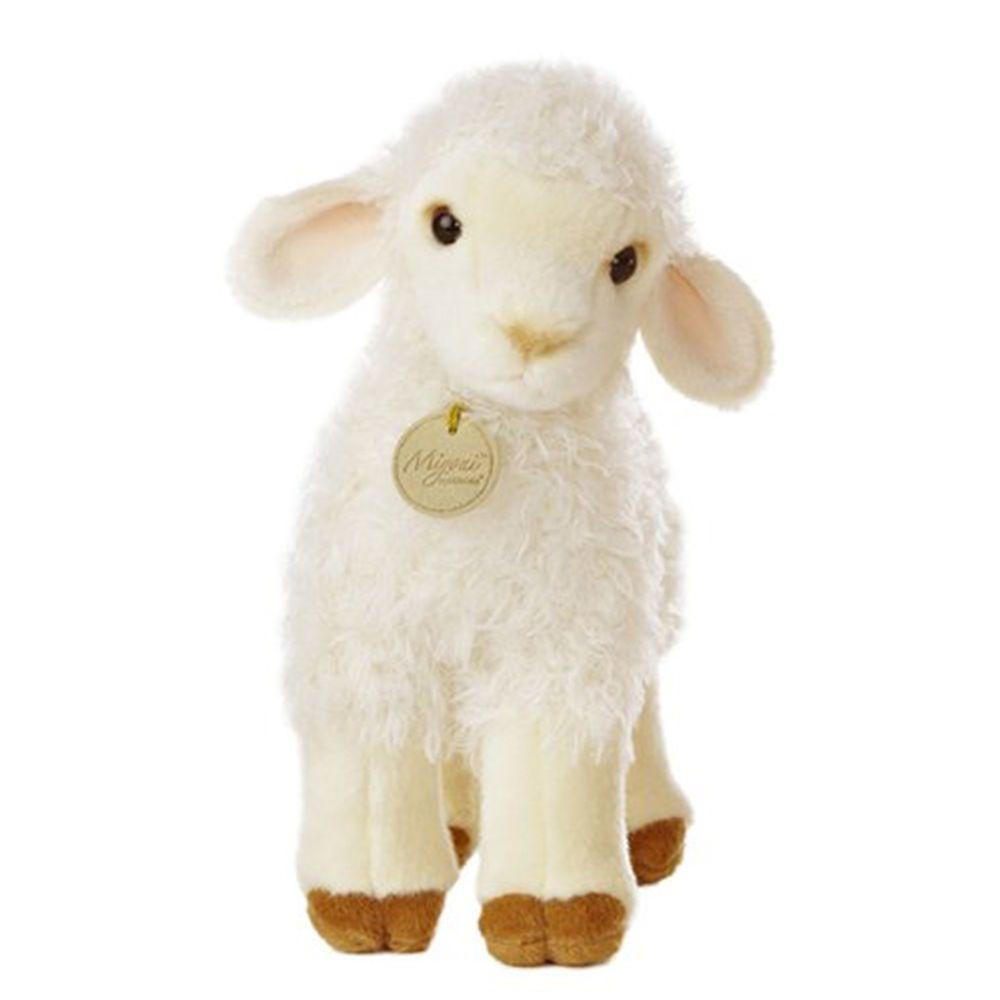 "Aurora World Miyoni Tots Baby Lamb Plush Toy 7/"" High"