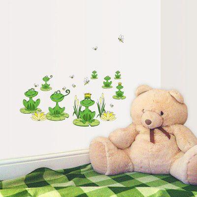 These may work in kids bath   Kids bath   Pinterest   Frogs, Wall ...
