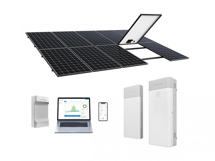 Coming Soon Sunpower Equinox Storage An All In One Home Solar Solution With A Storage Battery To He Solar Panels Solar Energy Panels Solar Panel Installation