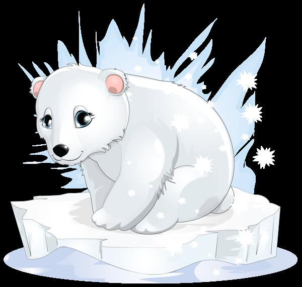 Transparent Polar Bear Png Clipart Png 600 571 Polar Bear Drawing Cartoon Animals Cute Cartoon Animals