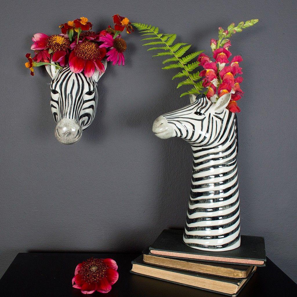 Zebra Decor, Quirky Home Decor, Decor