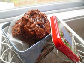 Secrets from the Cookie Princess: Salted Chocolate Truffle Cookies