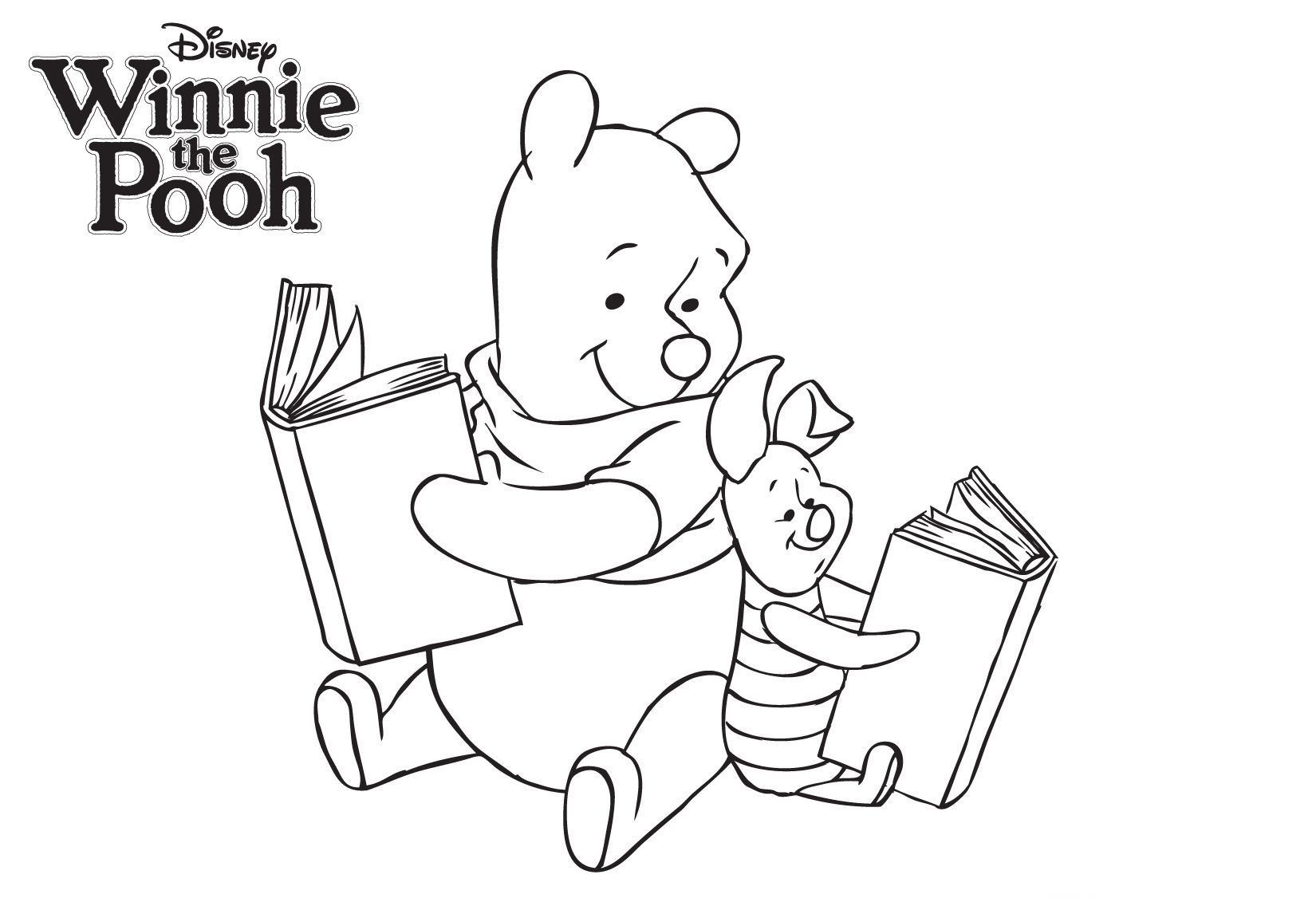 Winnie The Pooh And Piglet The Ultimate Coloring Book Disney