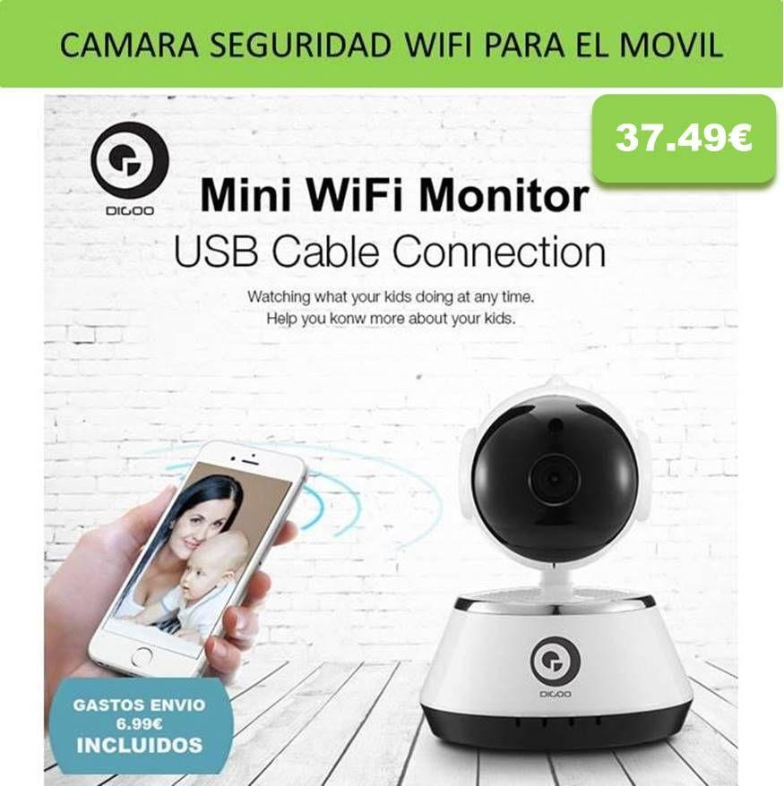 Camaras de seguridad wifi y videocamaras de vigilancia para casa hogar oficina vigila bebes - Camaras para casa ...