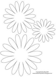 graphic relating to Daisy Template Printable named Inevitably! A Daisy I Together with! Flower Paper bouquets, Flower