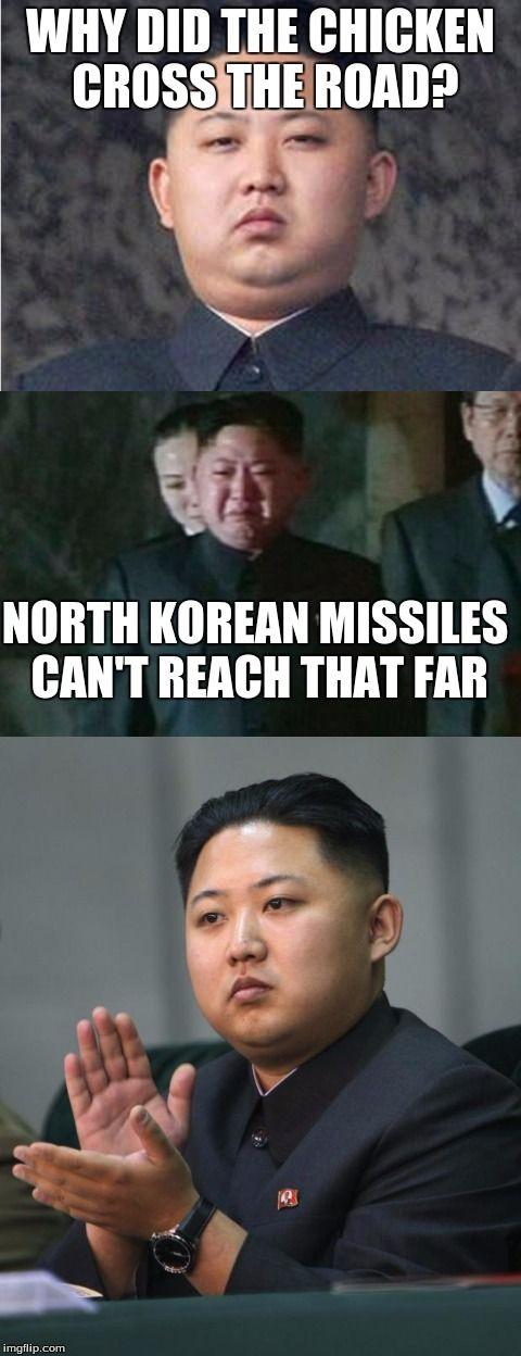 Bad Pun Kim Jong Un