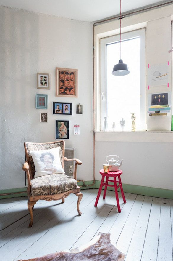 A Quirky Dutch Home With Fab Colours And Lots Of Art