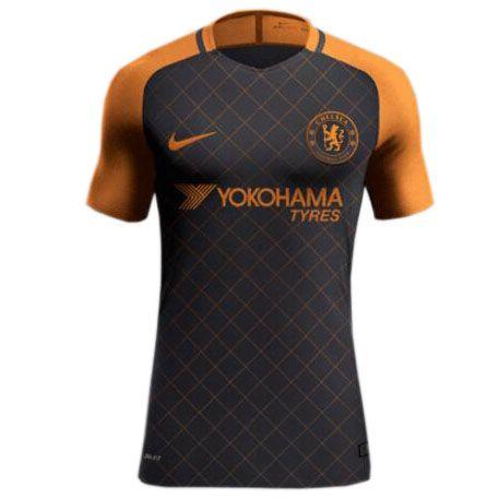 5dec9915c Nueva Camiseta Tercera Tailandia del Chelsea 2017 2018