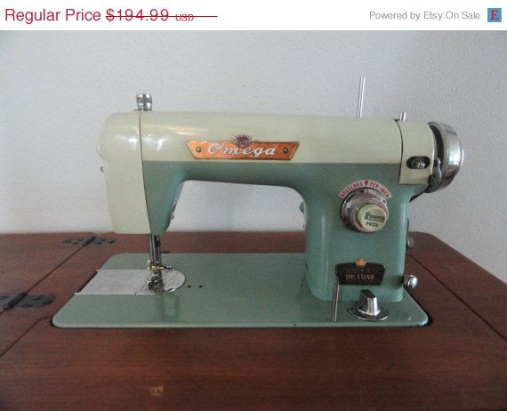 CLEARANCE SALE Vintage Sewing Machine Mid Century Sewing Machine Enchanting Clearance Sewing Machines