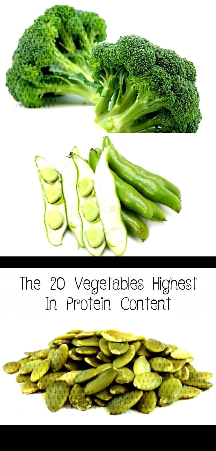 #dietandnutrition #vegetables #highest #protein #content #fitness #health #the #20 #in The 20 Vegeta...