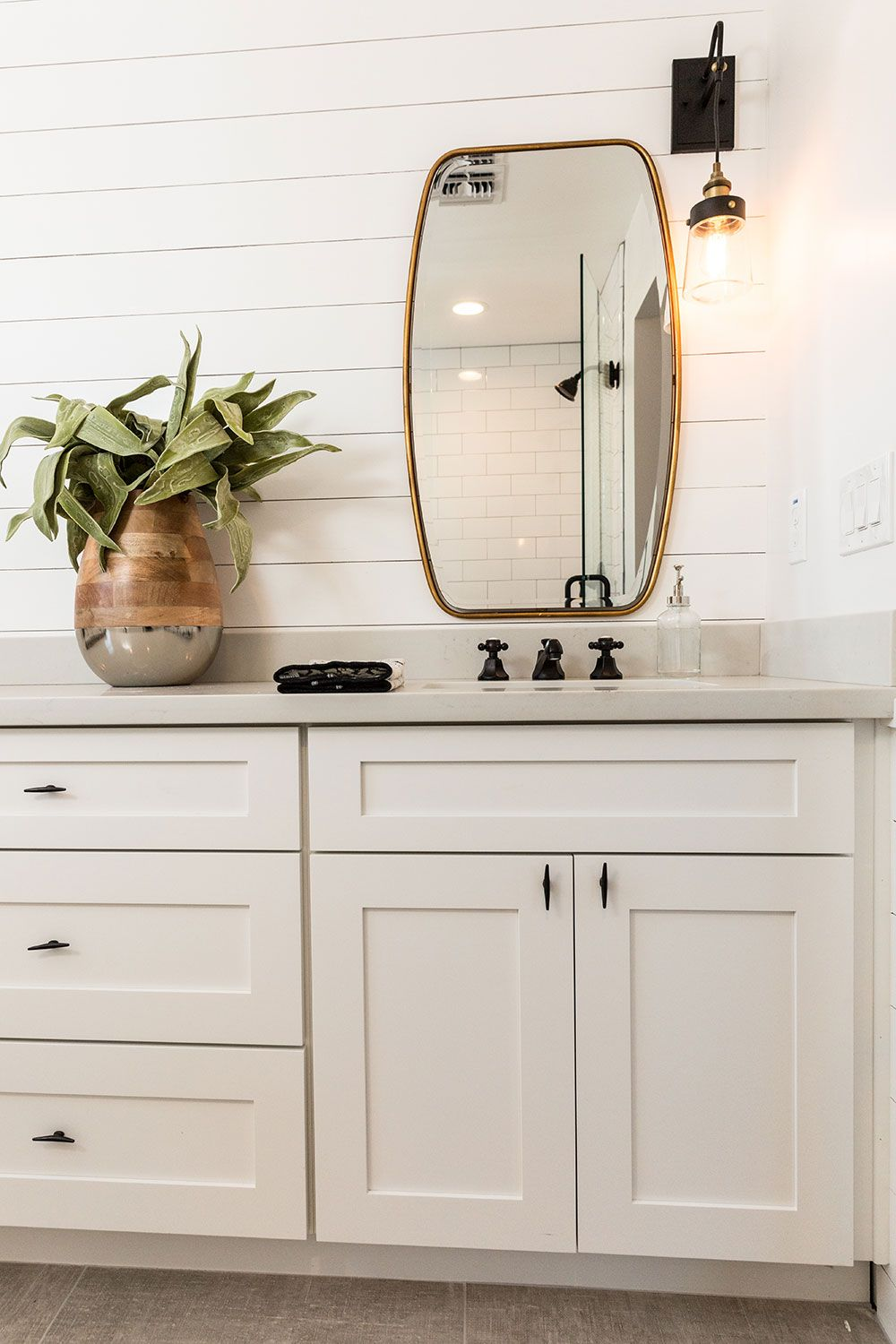 Add a modern, yet timeless style to your bathroom with ...