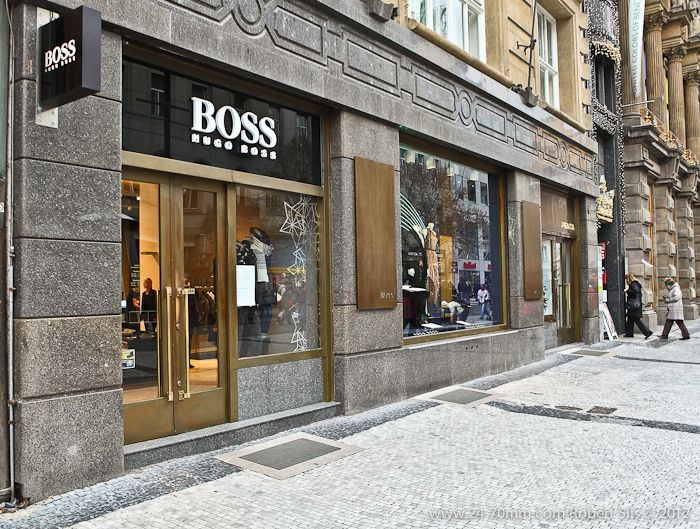 Hugo Boss in Prague