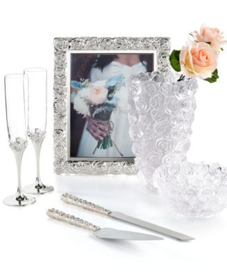 Monique Lhuillier Waterford Picture Frame Sunday Rose 8 X 10