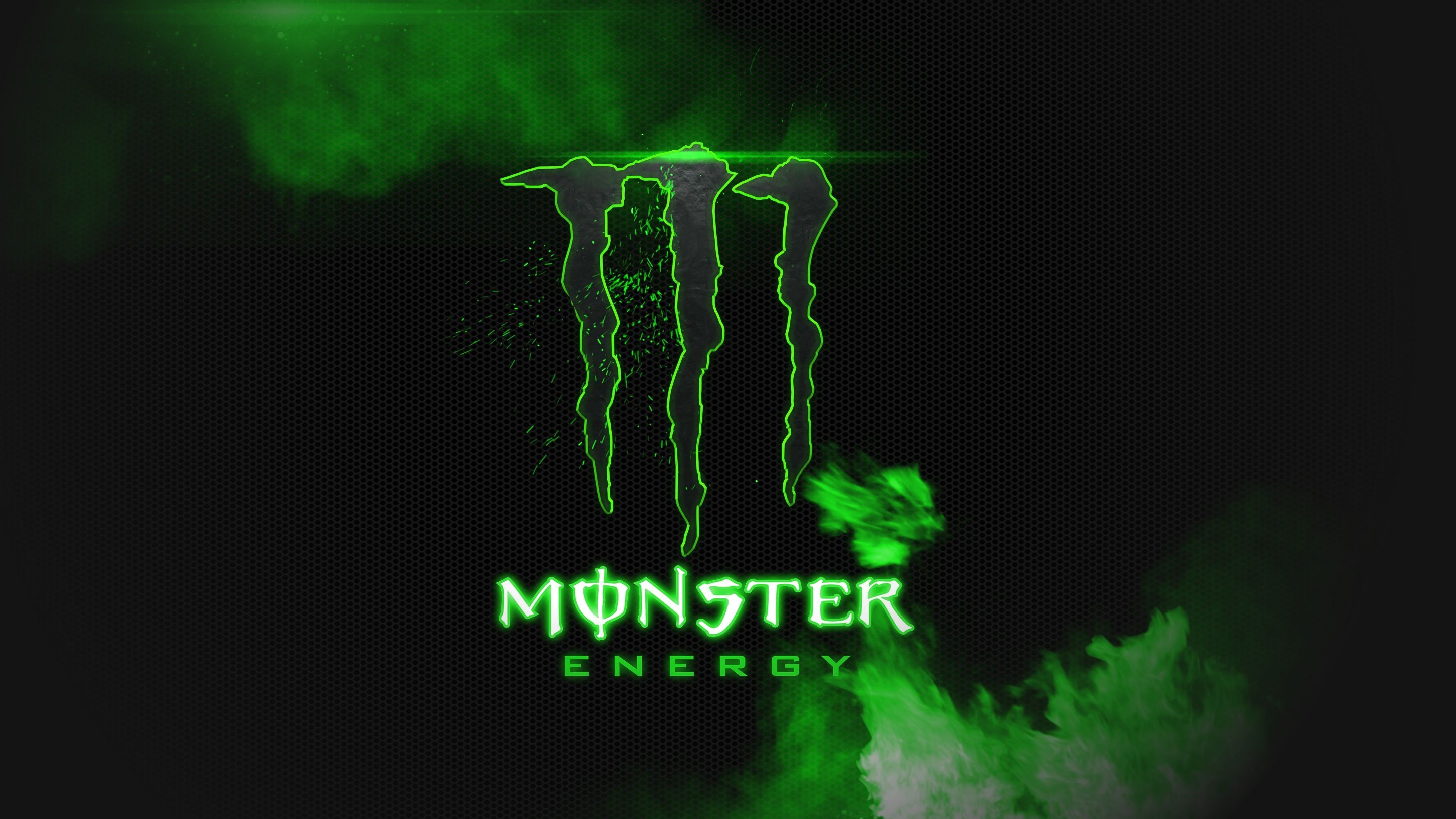 monster energy black and green hd wallpaper background image maria