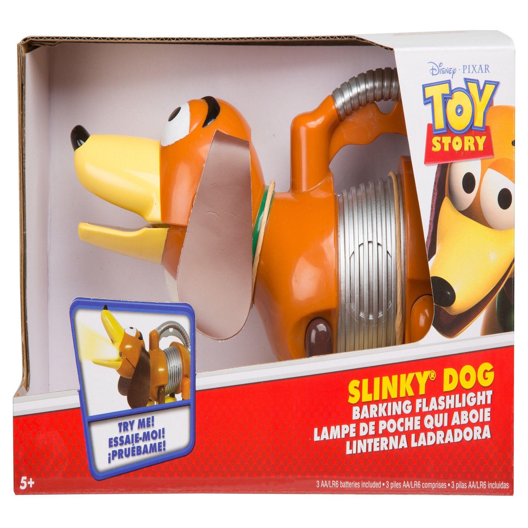 Disney Pixar Toy Story Slinky Dog Barking Flashlight Toy Story