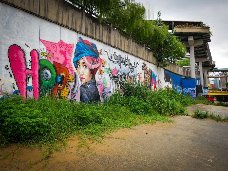 Graffiti Street Art Kuala Lumpur