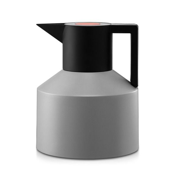 Normann Thermo Vacuum Flask, Black by Geo Thermo Pot