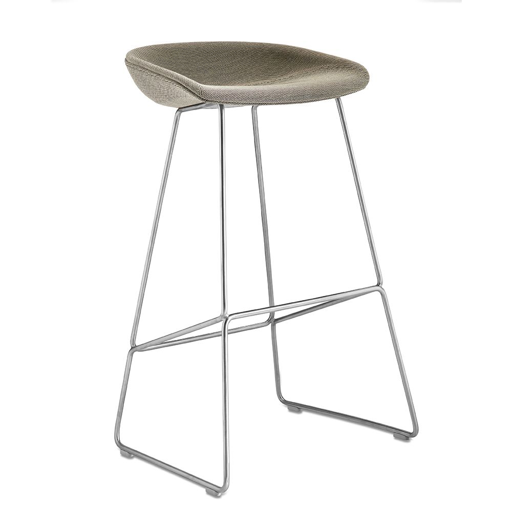 Hay About A Stool Aas39 Steel Upholstered Stool Bar Stools Stool Design