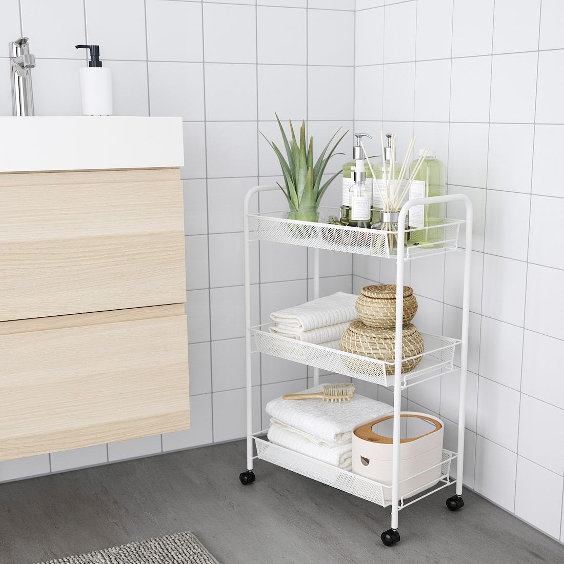 36++ Ikea bathroom storage cart ideas in 2021