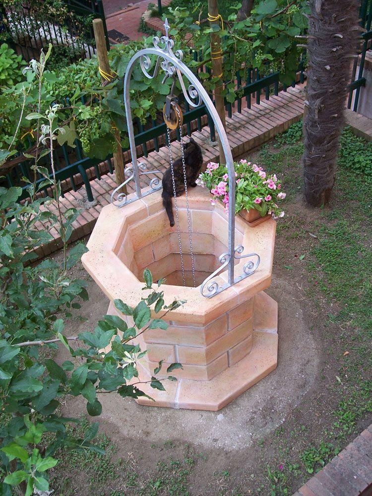 Pozzo 80 nel 2019 orto e giardino water well wishing for Pozzo da giardino decorativo